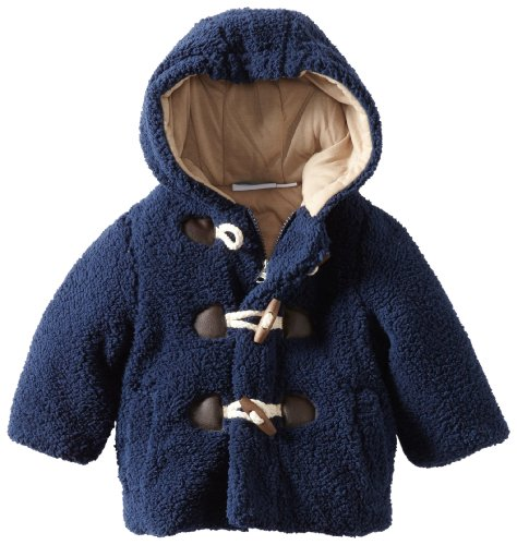 Bon bebe Baby Boys' Soft Faux Berber Jacket