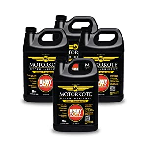 Motorkote MK-ET01G-04-4PK Black Hyper Lubricant - 1 Gallon, (Pack of 4)