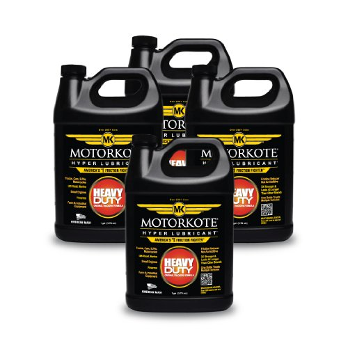 Motorkote (MK-ET01G-04-4PK) Black Hyper Lubricant - 1 Gallon, (Pack of 4) by Motorkote