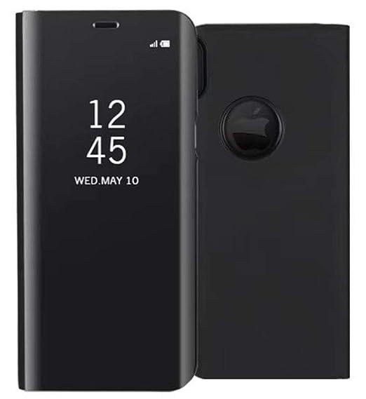 iphone xr flip mirror case