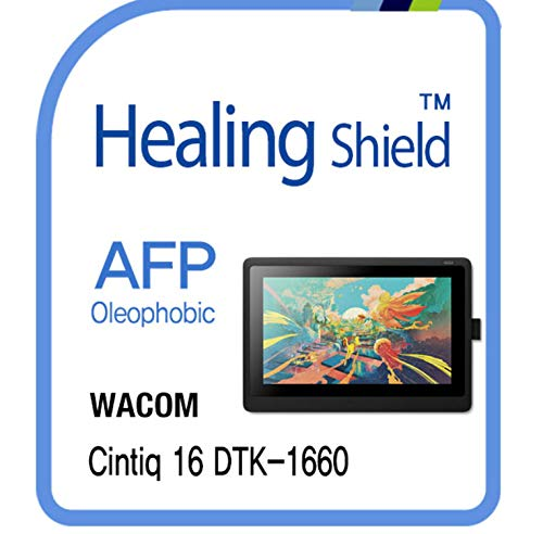 Clear Lcd Screen Film - Screen Protector for WACOM Cintiq Pro 16 DTK 1660, AFP Oleophobic Coating Screen Protector Clear LCD Shield Guard Film