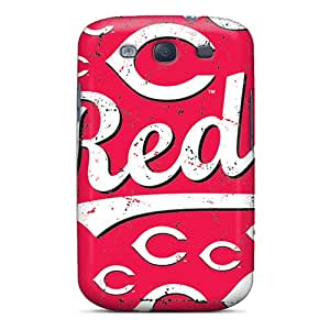 Best Cell-phone Hard Covers For Samsung Galaxy S3 (AFg12364hYtk) Provide Private Custom Attractive Cincinnati Reds Skin