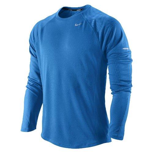 silver Hombre Running blue Uv De Miler Para Nike Camiseta Azul nwRgfqTz