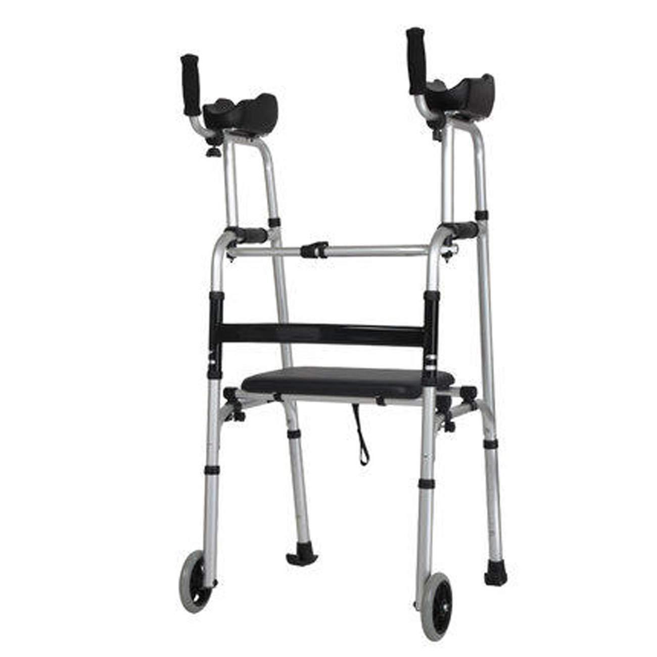 大好き 高齢者の歩行器、アルミ合金構造 B07L4P8WD3、腕のタイプの歩行の歩行器、2キャスターの席の助けられた歩行者を運ぶ、マルチスタイルオプション (設計 : B (設計 B) B B07L4P8WD3, アイ ショップ ホクト:66ca7635 --- a0267596.xsph.ru