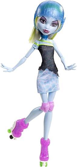 Amazon.es: Monster High - Muñeca, Monstruopatinadora Abbey Bominable (Mattel Y8349): Juguetes y juegos