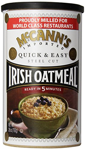 McCann's Steel Cut Irish Oatmeal, Quick & Easy, 28 Ounce