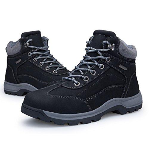 Behalten Freizeitschuhe Plüsch Stiefel Herren Winter Stiefel 40 Hohe Warm Black Baumwollstiefel Rutschfeste Plus Dämpfung 44 nzqX0pz