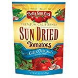 Bella Sun Luci Sun Dried Tomatoes with Greek Oregano, Basil and Garlic: Julienne-Cut, 99gm