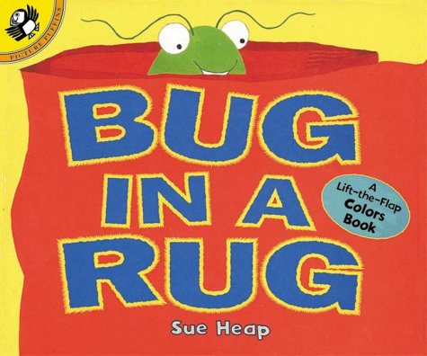 Amazon.com: Bug In A Rug: A Lift The Flap Colors Book (Lift The Flap,  Puffin) (9780140567076): Sue Heap: Books
