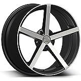 "22"" U2-33 Black Machined Wheels Rims by Wheel Deals 6x139 fit Chevy Chevrolet GMC Ford Mazda Nissan Toyota"