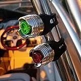 Bright Eyes Green & Red Aluminum Portable Marine