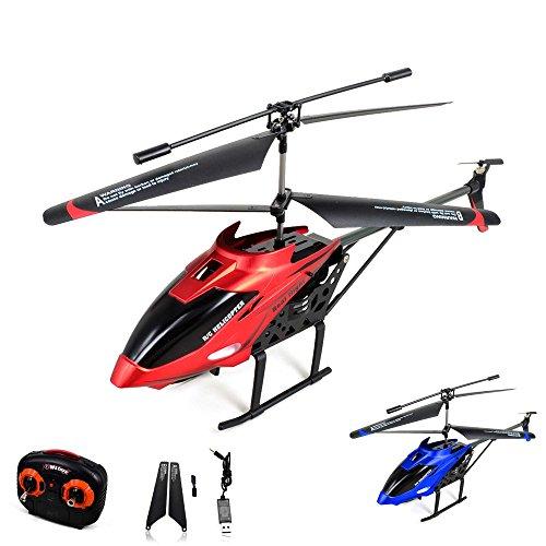 3.5 Kanal RC ferngesteuerter Hubschrauber-Modell, Gyro Stabilisierungs-Technik, Heli-Modellbau, Ready-to-Fly inkl. Crash-Kit