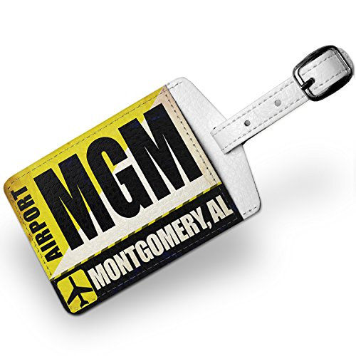 luggage-tag-airportcode-mgm-montgomery-al-travel-id-bag-tag-neonblond