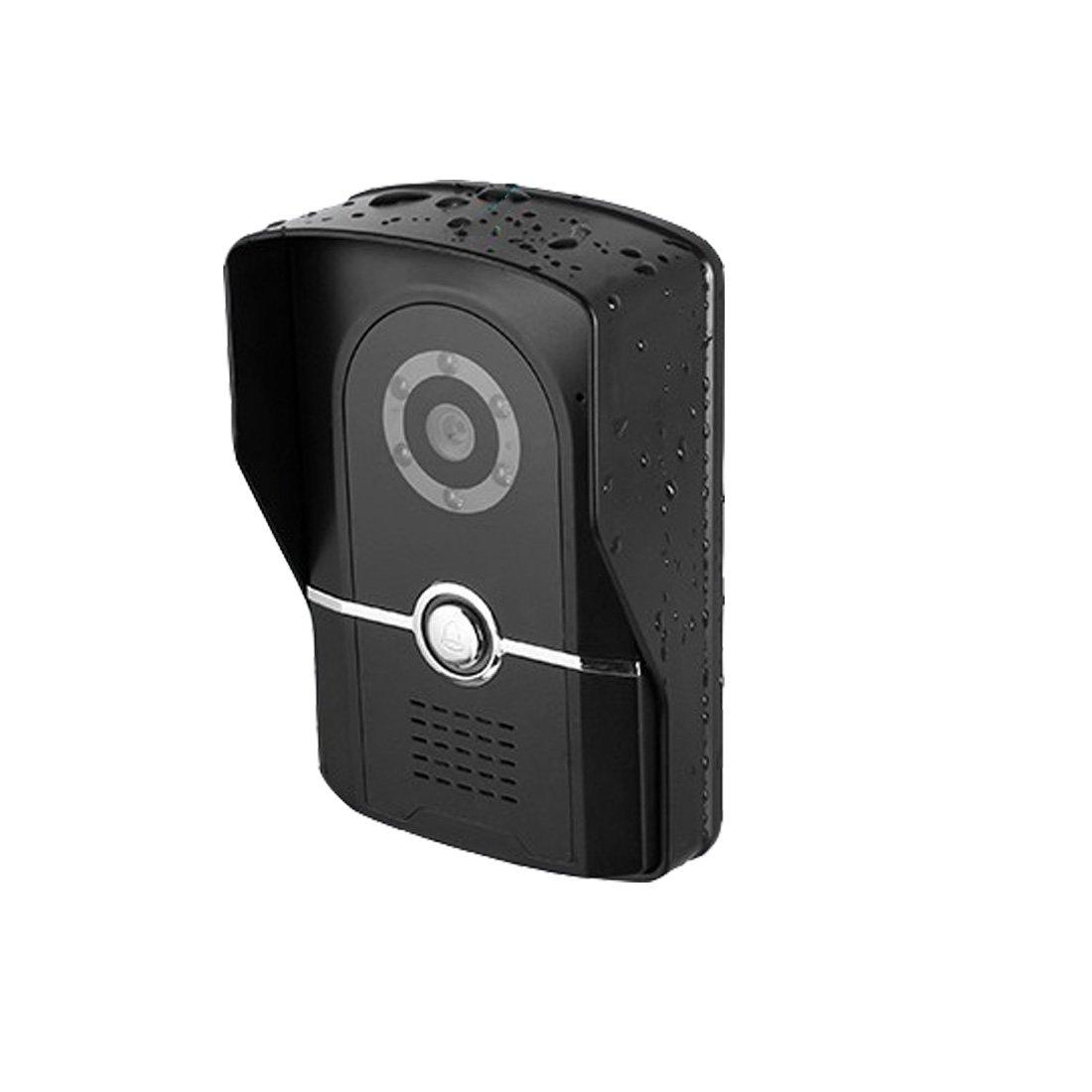 Unbekannt Video Türklingel Wireless 1080P-HD-Video, Zwei-Wege-Gespräch, Bewegungserkennung, WLAN, PIR-Bewegungserkennung Bei