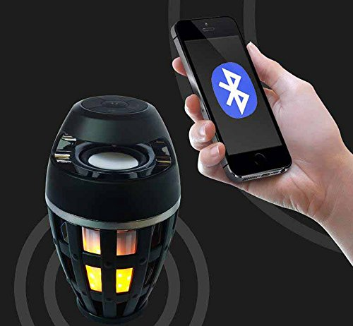 Kaxima Wireless Bluetooth Speaker Smart Outdoor with night light support card by Kaxima (Image #3)