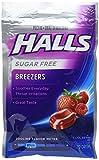 Halls Sugar Free Breezers Cool Berry