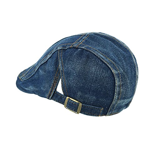 066c3ca76ed LETHMIK Denim Flat Cap newsboy IVY Irish Hats Jean Cabbie ...