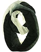 Echo Design Women's Knighted Pleats Infinity Loop Scarf