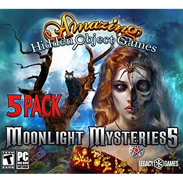 Amazon Com Legacy Amazing Hidden Object Games Moonlight Mysteries 5