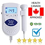 Prenatal Fetal Detector 3Mhz Probe Built-in Speaker Health Monitors Pocket Fetal Doppler Ba