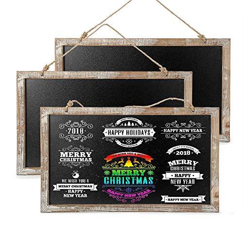 CALIFORNIA CADE ELECTRONIC Chalkboard - Chalkboard Sign-Vintage Framed Kitchen Chalkboard-Decorative Chalk Board for Rustic Wedding Signs, Kitchen Pantry & Wall Decor (3, 10.517.5 - Chalk Frame