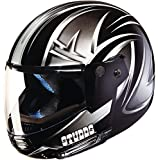 Studds Full Face Helmet Ninja D5 (Black N4, XL)