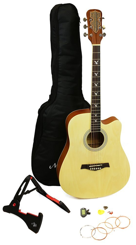 Martin Smith W-700-N Premium Acoustic Guitar, Natural, Full Size