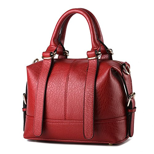 Bag Home Sweet Lady Fashion Shoulder Bag Crossbody Bag For Girls And Women Red Wine