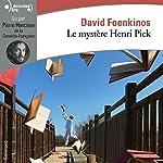Le mystère Henri Pick | David Foenkinos