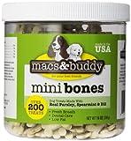 (US) Macs & Buddy Fresh Breath Mini Bones, 14-Ounce