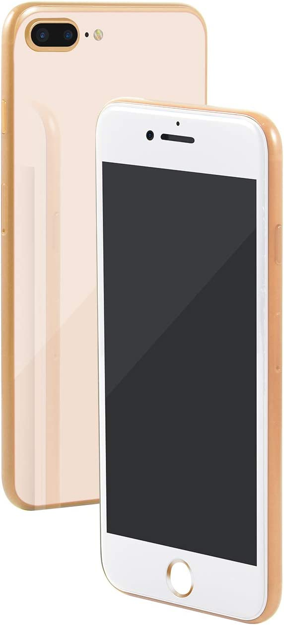 Aluminum Frame Replica Dummy Phone Display Fake 1:1 Scale Non-Working Phone Dummy for New Phone (8Plus Gold Black Screen)