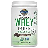 Garden of Life Protein Powder – Organic Whey Protein Powder, Grass Fed, Chocolate, 14.03 oz (379.5g) Powder Review