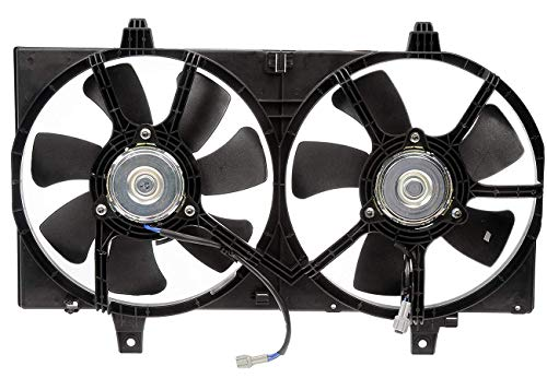 Cooling Sentra Fan Nissan Radiator - TOPAZ 21481-4Z320 Radiator Cooling Fan Assembly for Nissan Sentra 2002-2006 1.8L
