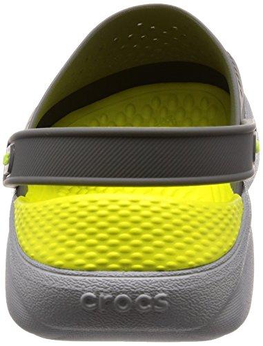 Grey Grey Donna Clog slate Basse light Grigio Crocs Literide nwgHaqqY