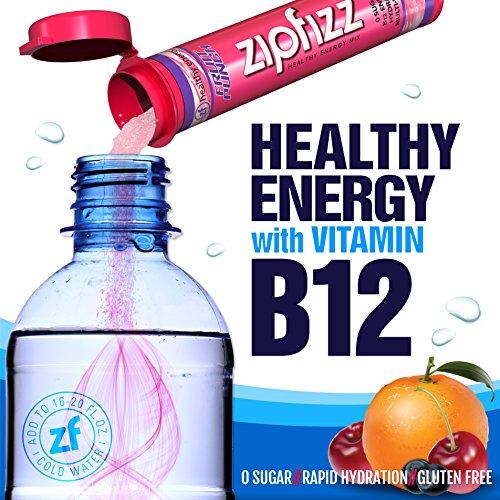 Zipfizz Healthy Energy Drink Mix Fruit Punch 20 Count 7