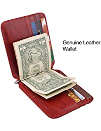 Genuine Leather Credit Card Wallet Slim Leather Wallet Card Holder Leather Card Organzier