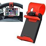 Vheelocityin 86mm Steering Wheel Car Mobile Holder Car Cradle