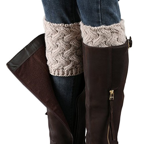 HITOP-Womens-Short-Boots-Socks-Crochet-Knitted-Boot-Cuffs-Leg-Warmers-Socks