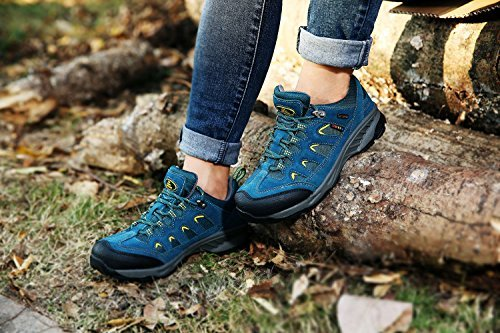 Marche Durables TFO Randonn¨¦e indigo Faible ¨¤ de Femmes et Hauteur pour de et Respirantes Chaussures Trekking Outdoor Chaussures de Eqw4qxS