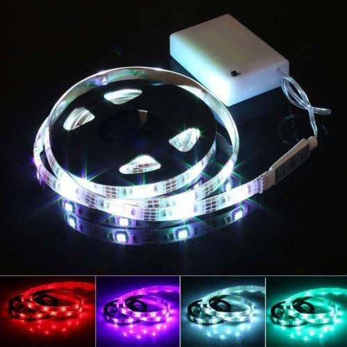 Halloween Costume LED Strip Accessory Light Kit 20 inches 20 Colors 19 (Stick Figure Costumes Halloween)