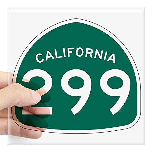 CafePress Route 299, California Square Sticker 3