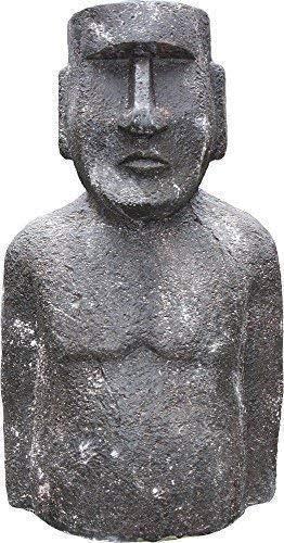 Moai , Isla de Pascua Figura, Jardín Escultura, Deco Jardín Figura, 95 Cm.: Amazon.es: Hogar