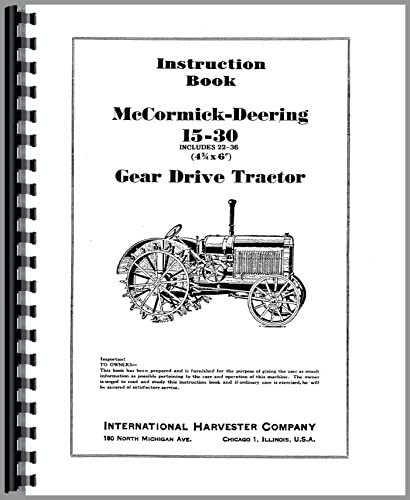 Farm & Ranch Agricultural & Construction Machinery 1930 up 1930+ ...