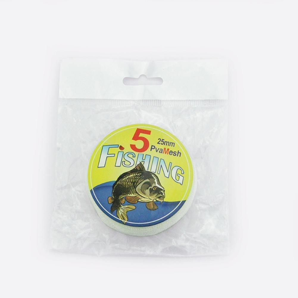 500cm haodene L/öslich Fischnetz PVA Mesh Nachf/üllung Refill Stocking K/öder Tasche Universal 2.5