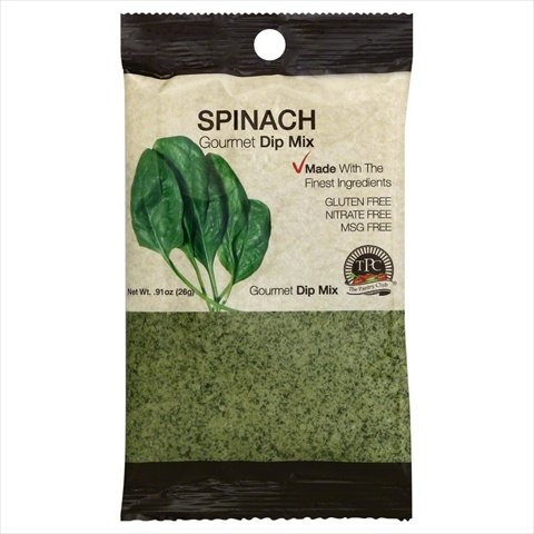 The Pantry Club Spinach Gourmet Dip Mix, 0.91 Ounce -- 12 per case.