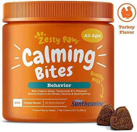 Dog Medication & Health Supplies: Zesty Paws Calming Bites