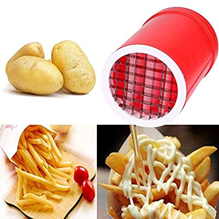 Compra AOLVO Patatoes Fries Maker - Cortador de Patatas 2 en ...
