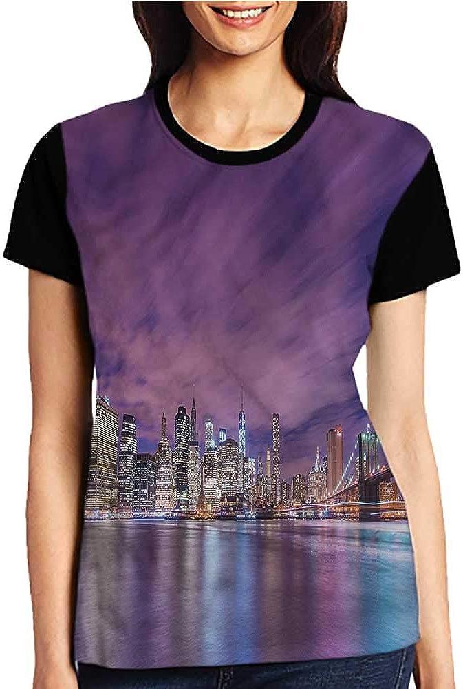 Shirts,Modern,Mosaic Grid Pixel Art S-XXL Print Short Sleeve Baseball Ladies Tee