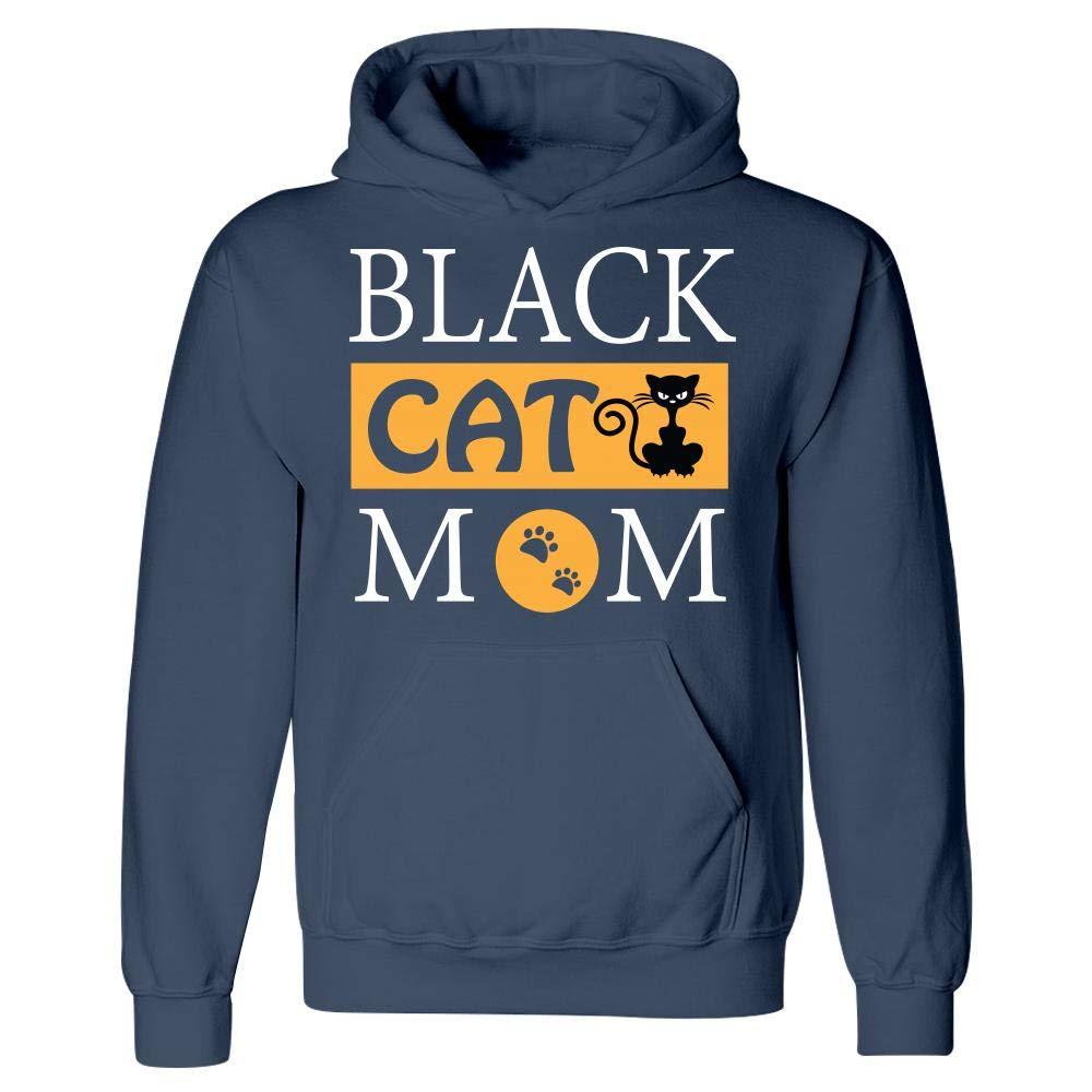 Hoodie Black Cat Mom