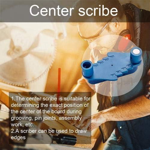 herramienta de marcado de precisi/ón para carpinter/ía Marcador de centro de marcaci/ón